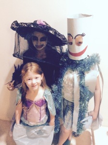 Rachel Malyka and Jac at Haloween
